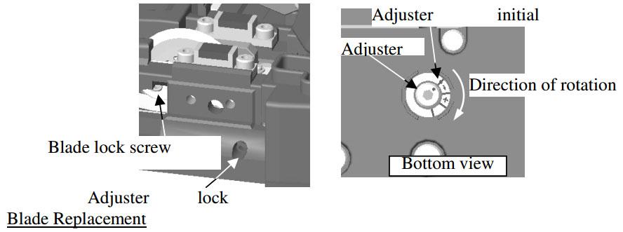 Splicer-Blade-Adjustment